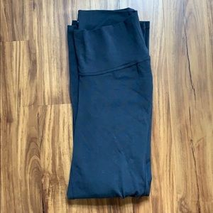 Old Navy Pants - Old Navy Grey Roll-Panel Boot-Cut Yoga Pants